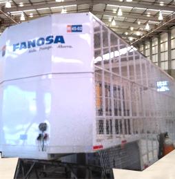 fabricación de plataforma tipo jaula